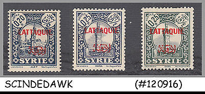 LATTAQUIE - SELECTED STAMPS ovpt on SYRIA STAMPS - 10V - OVPT - MINT HINGED