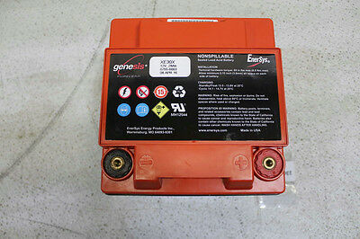 ENERSYS  XE30X  Rechargeable Battery, Lead Acid, 28 Ah, 12 V, Bolt