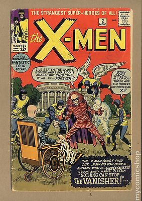 Uncanny X-Men (1963) 1st Series #2 GD 2.0