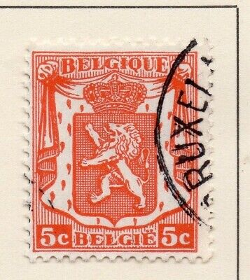 Belgium 1936 Early Issue Fine Used 5c. 124667