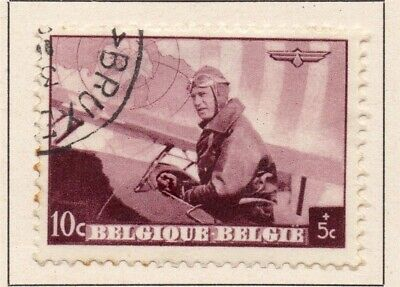 Belgium 1938 Early Issue Fine Used 10c. 124712