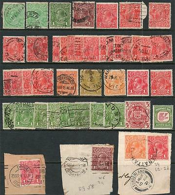 Australia (Mostly Gv) Selection (45) Used. Mixed Condition