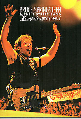 BRUCE SPRINGSTEEN & THE STREET BAND - Human Rights Final!, DVD EUROPE 2003 MINT