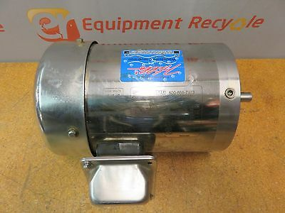 Sterling Electric SB0014PCA 1Hp Motor Electric Stainless Steel