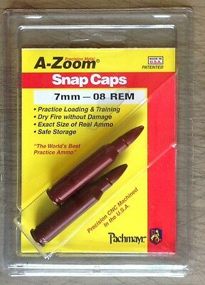 A-ZOOM Precision Metal Snap Caps 7mm-08 Remington
