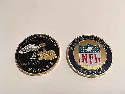 Nfl Philadelphia Eagles Sport American Football Collectable Challenge Coin New