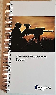 Rheinmetall Waffe Munition / Infantry Catalog Booklet / 121 Pages / 2014 / New