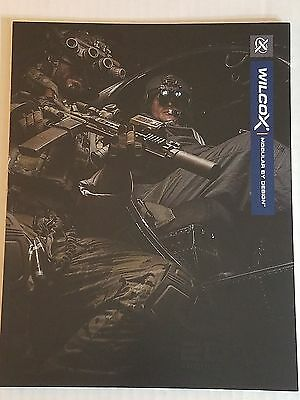 Wilcox Industries 2016 Product Catalog Booklet NEW Mounting Systems & More