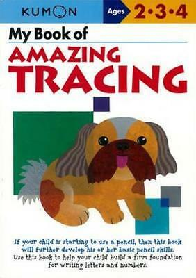 NEW My Book of Amazing Tracing By Kumon Publishing Paperback Free Shipping