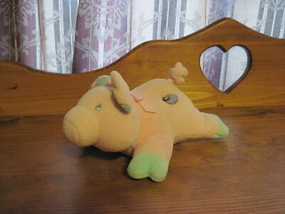 RARE VHTF Moving Musical EDEN Plush Pink PIG Plays Old MacDonald