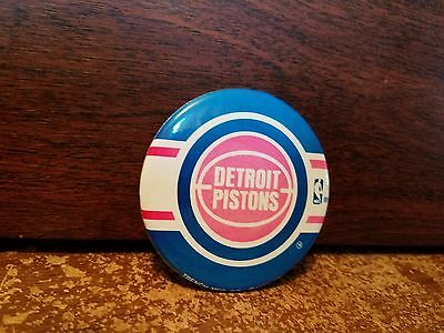 1989 Detroit Pistons Pin Old Logo Faded