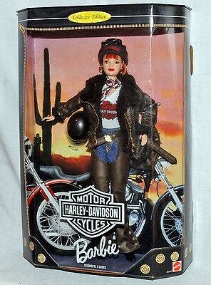 1998 Barbie Harley Davidson Red Head #2 in Series Never Out of Box