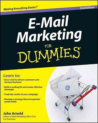 e-Mail Marketing For Dummies by John Arnold Paperback Book (English)