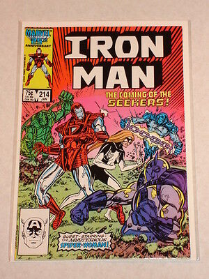 Ironman #214 Vol1 Marvel Comics January 1987