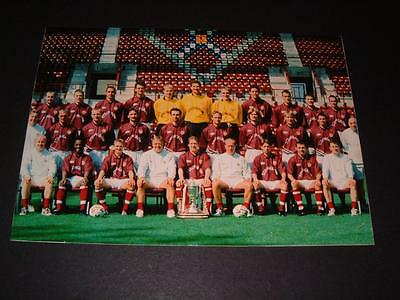 HEART OF MIDLOTHIAN HEARTS FC 1998-99 SQUAD SCOTTISH CUP HAND SIGNED x 14 PHOTO