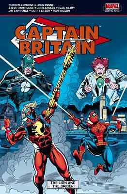 Captain Britain Vol.3: The Lion and the Spider - Paperback NEW Claremont, Chri 2