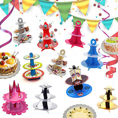 Cake Stand Cupcake Muffin Party Tableware Display Decoration Festive Vintage