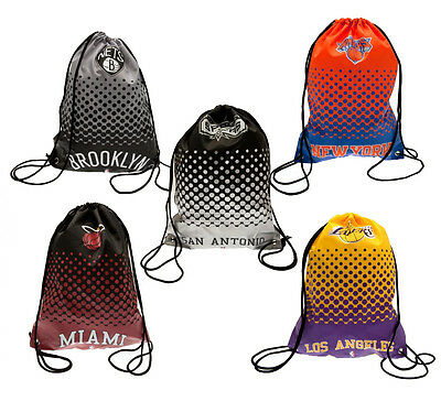 Official NBA - Gym/Sports Drawstring BAG (American Basketball Teams) Clothes