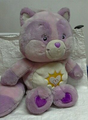 """Vintage Care Bears Bright Heart Racoon 17"""""""