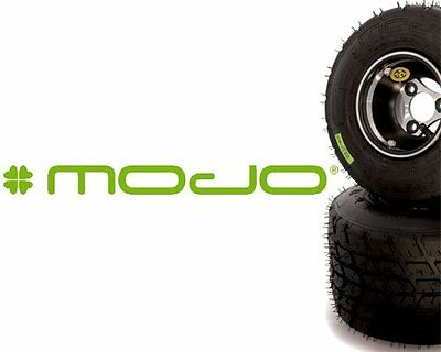 Full Set Of Mojo W2 Green Barcoded Wet Tyres