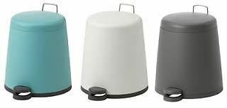 IKEA Snapp Bathroom Home Office Pedal Bin Various Colours & Sizes New