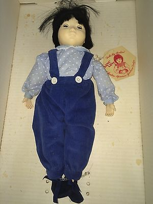 Cute Ling Ling Doll by Pauline Design Bisque Features Sleepy Eyes Bjonness Jacob