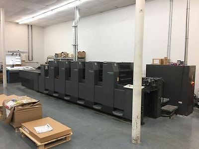 2000 Heidelberg Sm 52-5P+ L,tower Coater, Cpc 1.04 Console, Cptronic, Auto Plate
