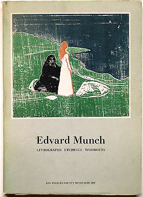 Edvard Munch–Lithographs-Etchings-Woodcuts Published by L.A.County Museum of Art