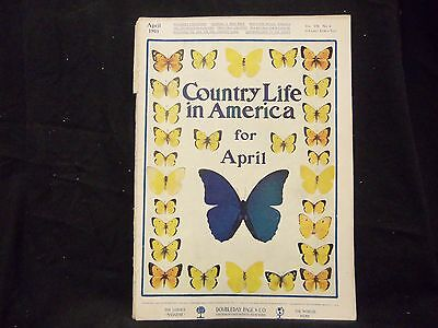1905 April Country Life In America Magazine - Great Cover & Ads - St 1380