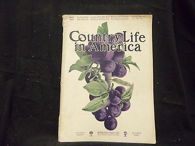 1905 July Country Life In America Magazine - Great Cover & Ads - St 1383