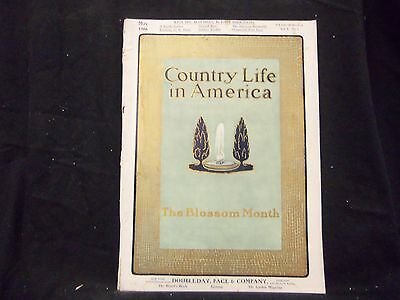 1906 May Country Life In America Magazine - Great Cover & Ads - St 1391