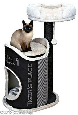 Susana Scratching Post Tree With Plush Bed & Cave 90 cm