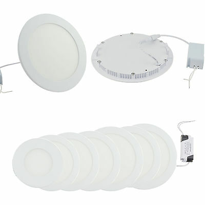4PCS Dimmable Epistar Recessed LED Panel Light 6W 9W 12W 15W Ceiling Down Lights
