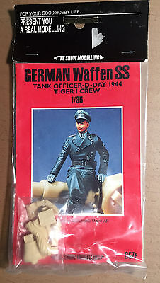 The Show Modelling 067F - German Waffen Ss Tank Officer D-Day 1944 - 1/35 Resin