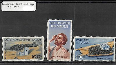 Lot of 1 Set 2 Singles Somalia Coast MH Mint Hinged Air Mail Stamps #94667 X