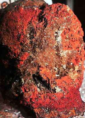 Rare Senegalite From Tl Senegal In Perky With Complete Label