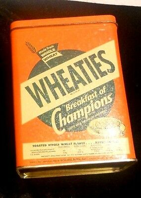 Wheaties Cereal Tin Can