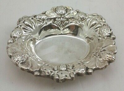 Candy Nut Dish Bowl - Sterling Silver 925 - 54 grams - excellent pre-owned cond.