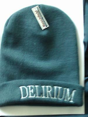 Ellie Goulding New Blue Delirium Embroidered Beanie Hat Free Uk Post Cap