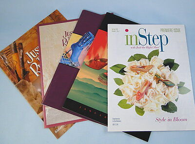 Just the Right Shoe Catalogs 1999, 2000, 2002, InStep Magazine
