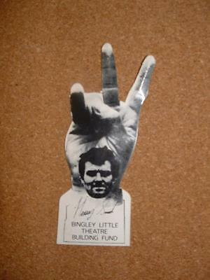 Harvey Smith Bingley Little Theatre Building Fund - V Sign - Free Uk Shipping