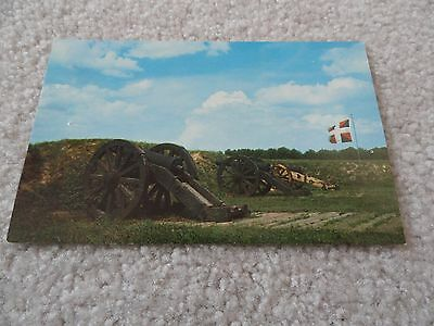 Grand French Battery, Yorktown Virginia   Postcard