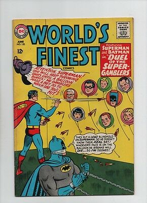 World's Finest #150 - Duel Of The Super Gamblers - (Grade 6.0) 1965
