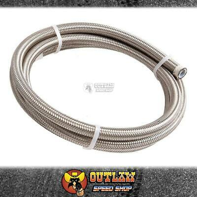 Aeroflow #10 Nylon Braided Air Conditioning Hose S/s Outer 3 Meter - Af800-10-3M