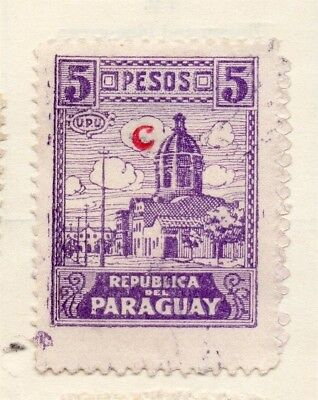 Paraguay 1935 Early Issue Fine Mint Hinged 5P. 125061