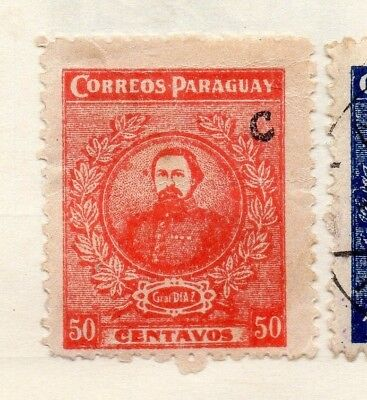 Paraguay 1935 Early Issue Fine Mint Hinged 50c. 125063