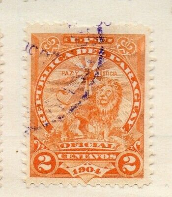 Paraguay 1935 Early Issue Fine Used 2c. 125085