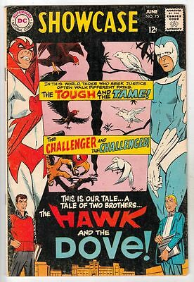 Showcase 75 Strict 6.5 FN+ Mid-High-Grade two brothers 1st App. Hawk & Dove Wow
