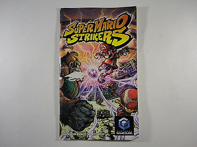 ¤ Super Mario Strikers ¤ (MANUAL ONLY) Okay Nintendo GameCube Wii