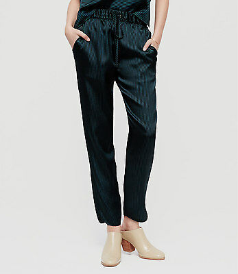 1687718f119d50 Ann Taylor LOFT Lou & Grey Pinstripe Luster Pants Size Large NWT Wile Moss  Color